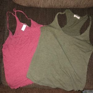 Forever 21 and HM crop top bundle